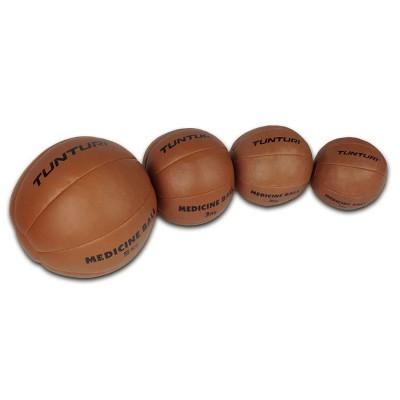 Odinis-pasunkintas-kamuolys-TUNTURI-1-5kg-brown