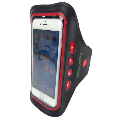 Sportinis-LED-deklas-telefonui-TUNTURI-raudonas