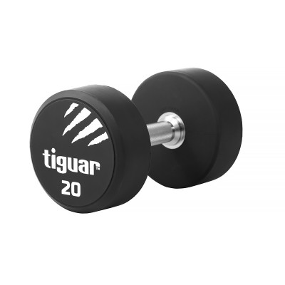 Profesionalus-PU-hantelis-TIGUAR-20kg