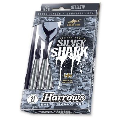 Strelyciu-rinkinys-HARROWS-Silver-shark-STEELTIP