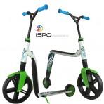 Balansinis-dviratukas-paspirtukas-Scootride-HighwayGangster-green